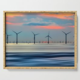 Windmills Serving Tray