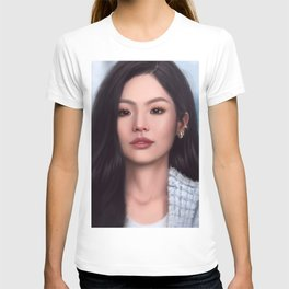 jennie sketch T-shirt