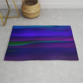 Seascape At Night Rug