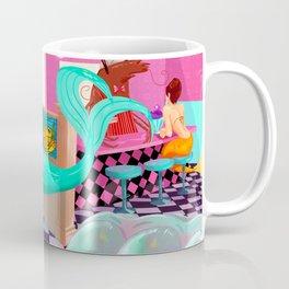 Retro Undersea Diner! Coffee Mug