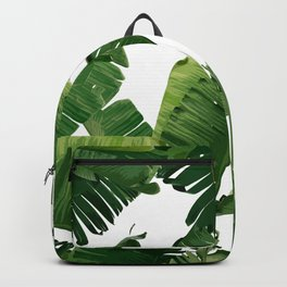 Banana Green Backpack