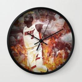 Dwyane Wade Wall Clock
