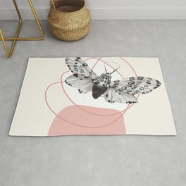 Watercolor Moth No. 4 Rug