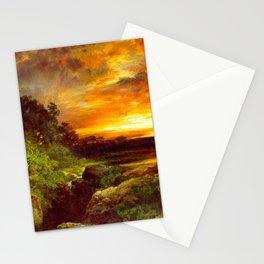 An Arizona Sunset Near The Grand Canyon 1898 By Thomas Moran | Reproduction Stationery Cards