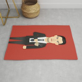 Watching The Detectives #3: Portrait Rug