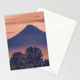 Osorno Volcano Landscape Scene, Chile Stationery Cards