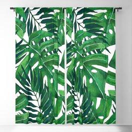 Jungle leaves Blackout Curtain