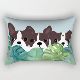 Dogs garden Rectangular Pillow