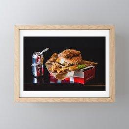 Fast Food Still Life Framed Mini Art Print