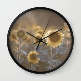 Sunflowers #1 Wall Clock