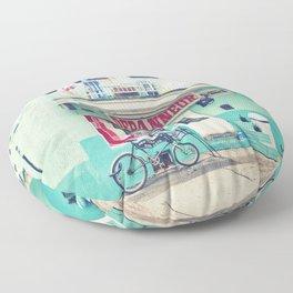 Montreal  - Dépanneur Floor Pillow