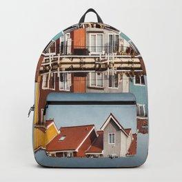 groningen colorful home Backpack