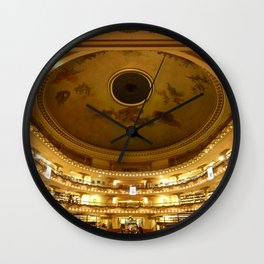 El Ateneo Grand Splendid, Buenos Aires Wall Clock