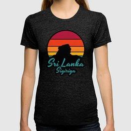 Sri Lanka Sigriya: Vintage Sunset  T-shirt