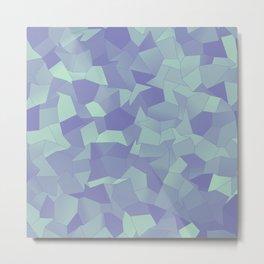 Geometric Shapes Fragments Pattern lpb Metal Print