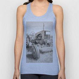 Vintage Tractor Durham NH Unisex Tank Top