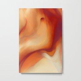 Abstract Desert Dunes Metal Print