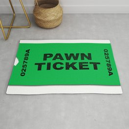 Pawn Ticket Rug