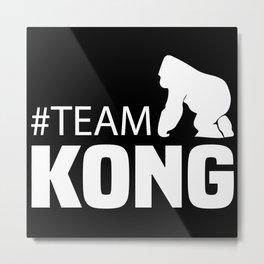 Team Kong -  Official Team Kong vs Godzilla Metal Print