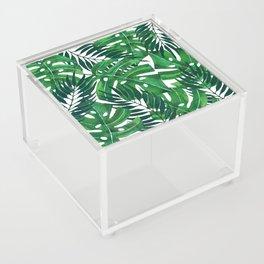 Jungle leaves Acrylic Box