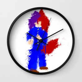 Splatter Kiyoshi Wall Clock