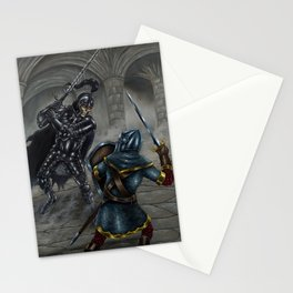 Death Knight Stationery Cards