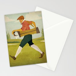Vintage Golf Stationery Cards