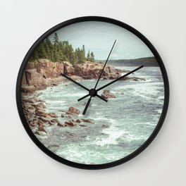 Swirling Sea Wall Clock