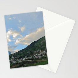 Dans le creux des montagnes Stationery Cards