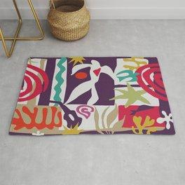 Inspired to Matisse (violet) Rug