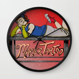 MarverTart Wall Clock
