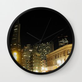 Kearny at Columbus Wall Clock