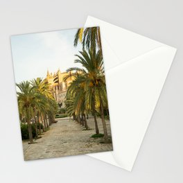 Palma de Mallorca- Travel Photography- The Cathedral in Mallorca Stationery Cards