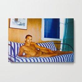 Nudist Mousse Metal Print