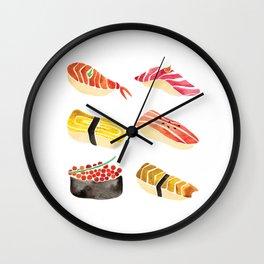 Sushi Love Wall Clock