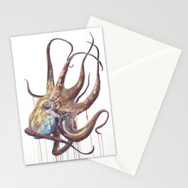 He'e - Octopus Stationery Cards