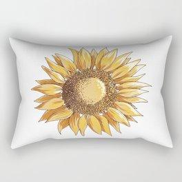 Sunflower art Rectangular Pillow