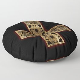Lament Configuration Cross Floor Pillow