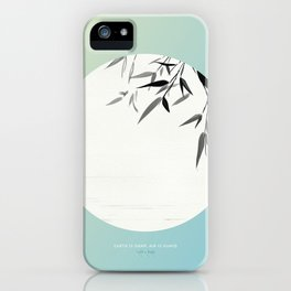 [7.29—8.02] Earth Is Damp, Air Is Humid iPhone Case
