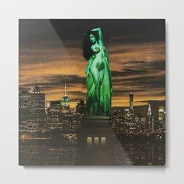 Quiverish Liberty Metal Print