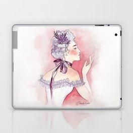 Purple Ribbon Laptop & iPad Skin