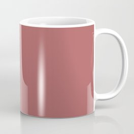 PANTONE 18-1630 Dusty Cedar Coffee Mug