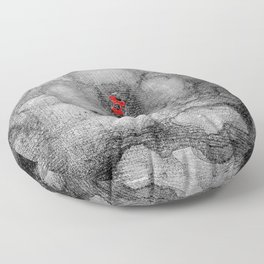 Grey Poppy S51 Floor Pillow