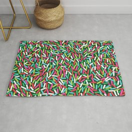 Encrusted With Sprinkles (Holiday Edition) Rug