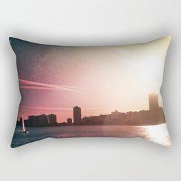 Sailing Into Daylight Rectangular Pillow
