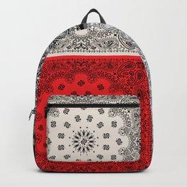 65 MCMLXV Bandana Print Mix Pattern Backpack