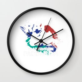 Raft Is Adventure Paddle On Boating Rafting Gift Wall Clock