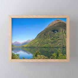 Beautiful Reflections at Lake Gunn, NZ Framed Mini Art Print