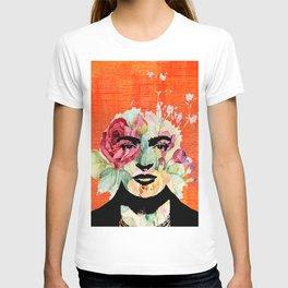 Frida flowers T-shirt