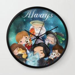 Hp always Wall Clock